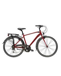 Vélo BOXTER HP 21V ACERA homme H55 rouge