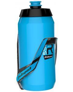 Bidon R550 avec support bleu