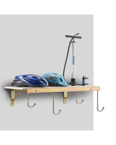 Support mural 4 vélos avec tablette