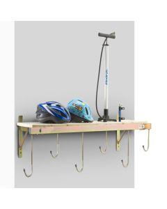 Support mural 6 vélos avec tablette