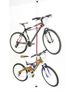 Range 2 vélos sol/plafond