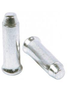 500 Embouts Ø2,3 Aluminium Argent