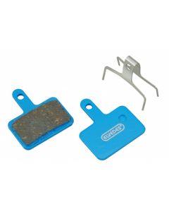 Plaquettes de freins à disque organiques 25 paires pour Shimano BR-M375, M415-M495, M515, M525, M575, C501,…