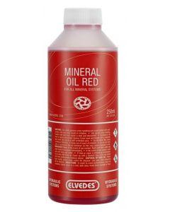 Huile minérale rouge pour tous les systèmes minéraux 250 ml