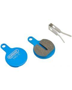1 paire de plaquettes de freins à disque organiques pour Tektro Lyra et IOX