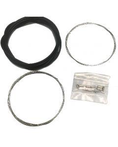 Kit de câbles inoxydables pour dérailleur