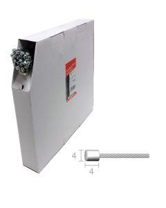 Cables inoxydables pour dérailleur  (100 pcs)