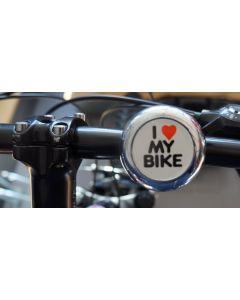 Sonnette I love my Bike