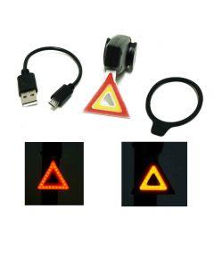 Lampe arrière USB Warning