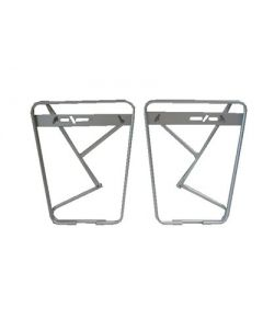 Porte-bagage lowrider paire argent + protection