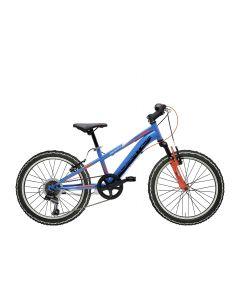 Vélo MTB ROCK 20' 6V bleu/rouge