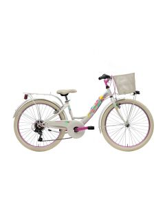 Vélo CTB 24 6V fille blanc MOD. 2021