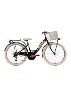 Vélo CTB 24 6V fille noir MOD. 2021