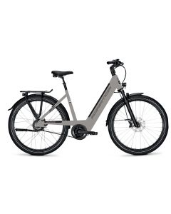 """Vélo E-BIKE 3 KING dame 28"""" M81 gris"""