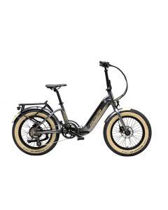 Vélo E-BIKE FAT FOLD20 gris