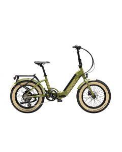 Vélo E-BIKE FAT FOLD20 vert