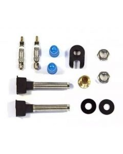 Valve tubeless 47 mm base presta (2 pcs)