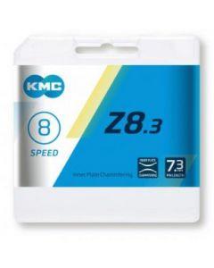 KMC Chaîne 8 vitesses Z8 argent-gris