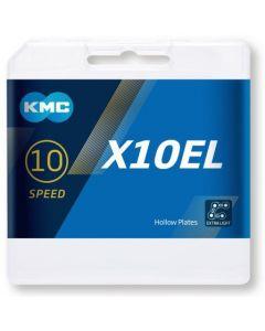 KMC Chaîne 10 vitesses X10EL argent